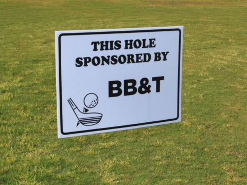 Golf Tournament Sponsor